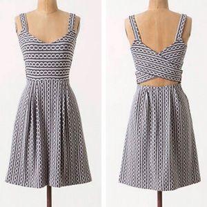 Anthropologie Postmark Rolo Gray Dress Size S